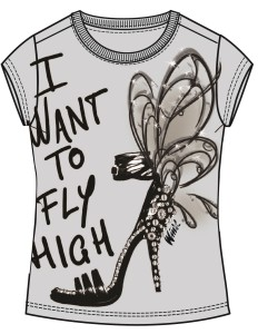 Bozzetto t-shirt Urban Fairy by Sisley Young_2