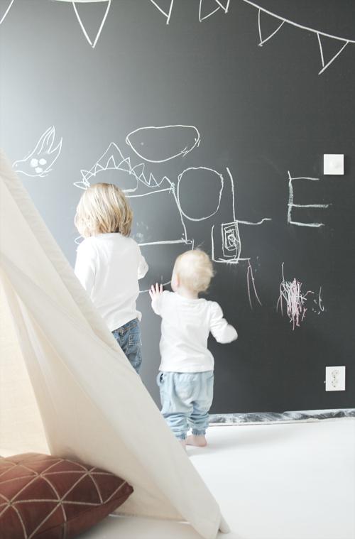 Idee per dipingere le pareti della cameretta dei bambini mamme coi tacchi a spillo - Dipingere la cameretta dei bambini ...