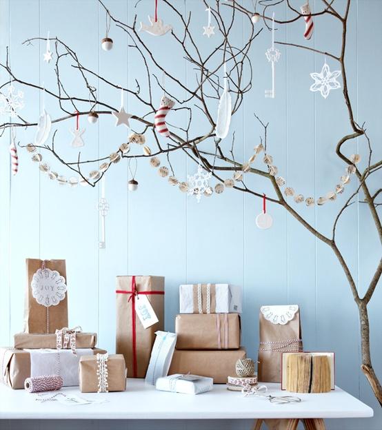 Decorazioni natalizie in stile nordico mamme coi tacchi - Idee deco noel exterieur naturel ...