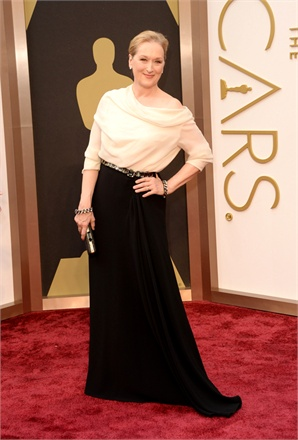 7 - Meryl Streep in Lanvin