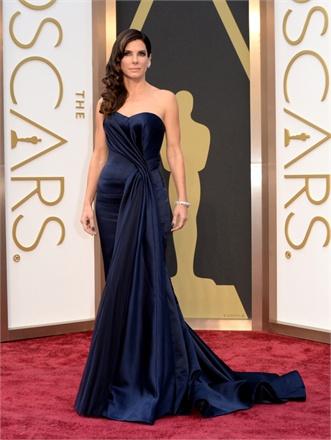 2 - Sandra Bullock in Alexander McQueen
