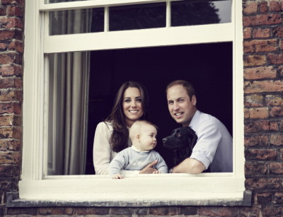 The Duke And Duchess Of Cambridge Release Family Photograph Ahead Of Tour To Australia & New Zealand