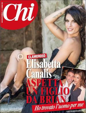 Elisabetta Canalis aspetta un figlio da chirurgo Brian Perri