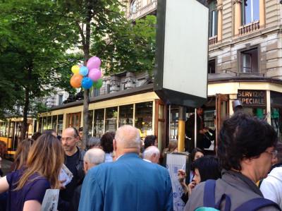 piano tram