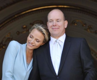 Princess Charlene pregnant with first child