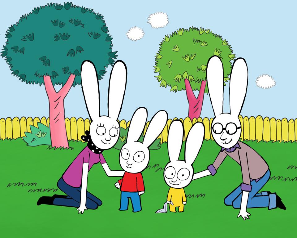 C è simone il super coniglio mamme coi tacchi a spillo